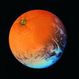 Orange Welt