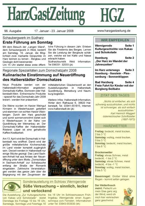 HGZ Ausgabe 96 Seite 1
