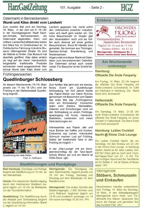 HGZ Ausgabe 101 Seite 2
