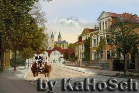 Quedlinburg Schiffbleek bunt