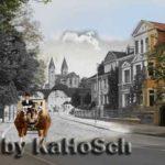 Quedlinburg Schiffbleek sw/bunt